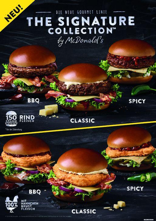THE SIGNATURE COLLECTION™ bringt edle Produkte mit sich. Foto: McDonald's