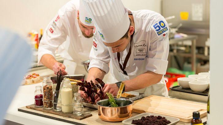 """Der """"Bocuse d'Or"""" gilt als einer der wichtigsten Kochwettbewerbe der Welt. Foto: Jörg Eberl, """"Bocuse d'Or Germany"""""""