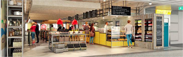 """Das """"Hausmann's"""" von Tim Mälzer soll die identische Ausrichtung wie das gleichnamige Restaurant in der Düsseldorfer Innenstadt bekommen. Foto: SSP"""