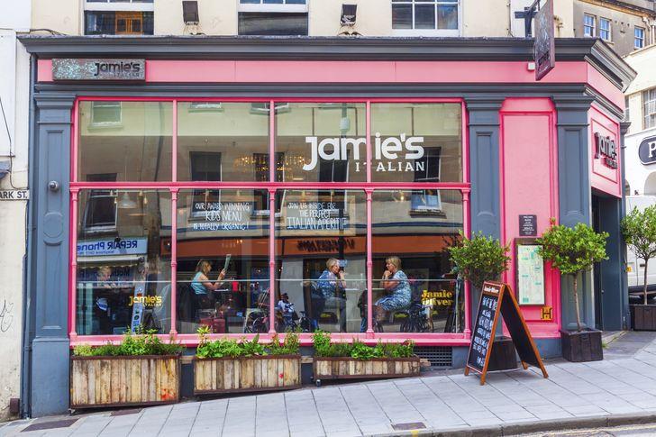 jamie 39 s italian viele restaurants in deutschland. Black Bedroom Furniture Sets. Home Design Ideas