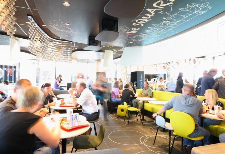 Das «Spirit of Family»-Konzept des Franchise-Unternehmens McDonald's machte es vor. Nun ist auch Konkurrent Burger King auf dem Weg Richtung familienfreundlicher Ausrichtung seiner Restaurants. Foto: McDonald's
