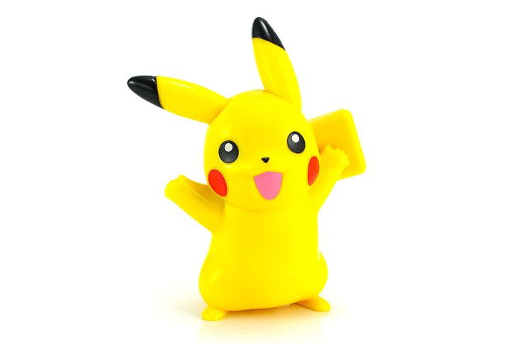 Die Figur Pikachu ist das bekannteste Pokémon.