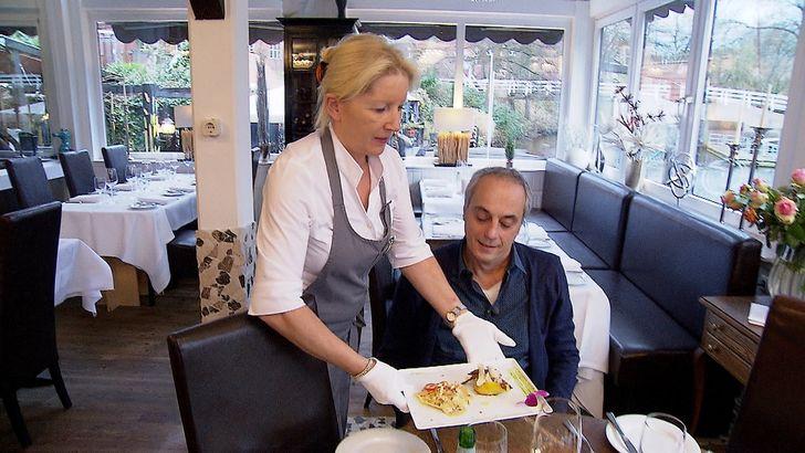 Restaurant Al Porto: Patricia Zonca (l.) und Christian Rach. Foto: RTL