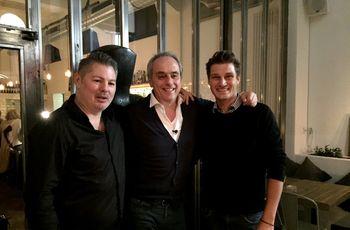 Restaurant Dom: (v.l.) Stefan Schauberger, Christian Rach, Marc Leuwer Foto: RTL / ume
